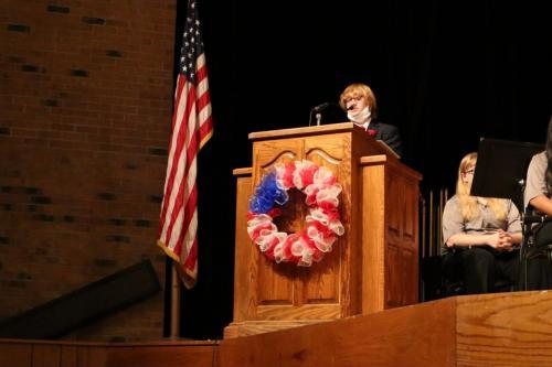 Summer Behne - GuymonHS_Veterans Day President